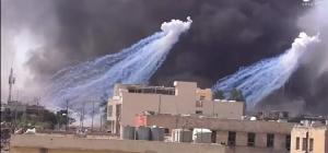 Fotoğrafın Barış Pınarı Harekatı'nda Türkiye tarafından kullanılan fosfor bombasını gösterdiği iddiası
